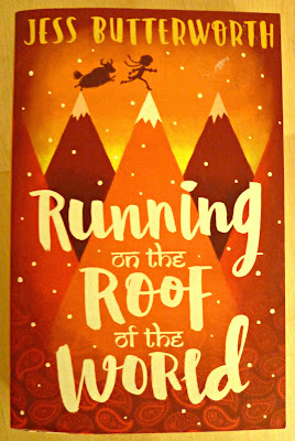 The book cover of Running on the Roof of the World