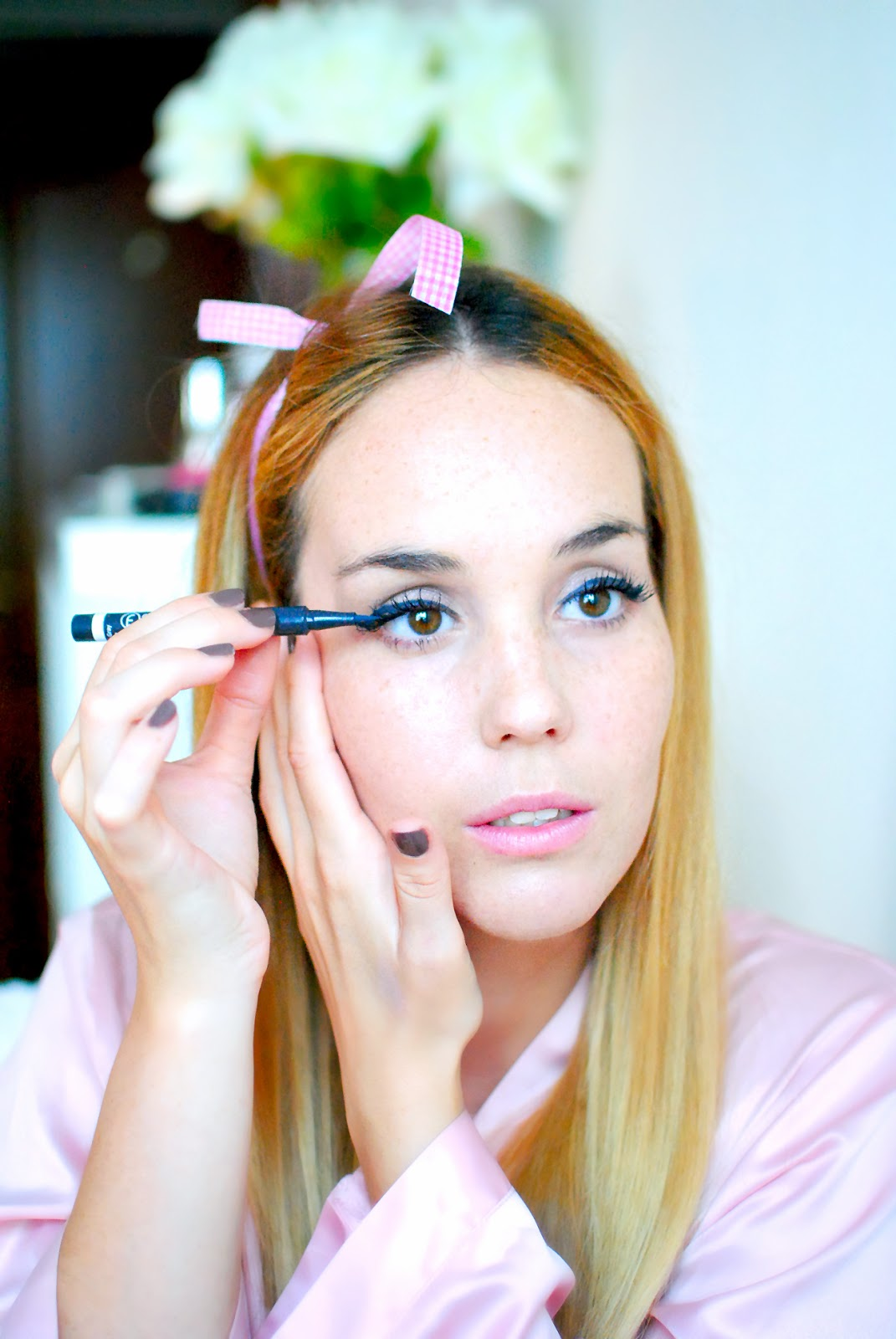 nery hdez, makeup tutorial, flormar, pin up make up tutorial, beauty , blonde,