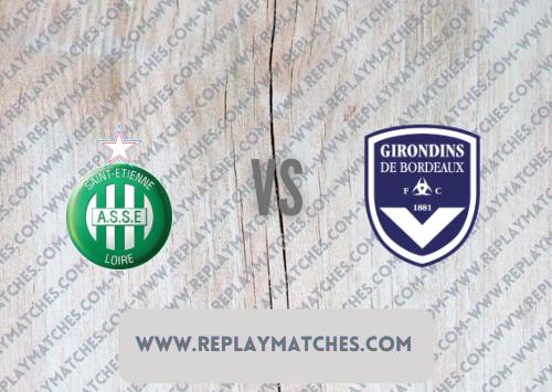 Saint-Etienne vs Bordeaux -Highlights 18 September 2021