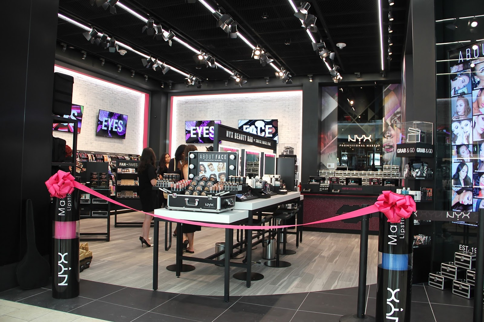 Fashionably Petite Nyx Cosmetics Store Opening At Westfield Garden State Plaza