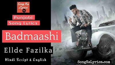 badmaashi-lyrics-