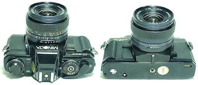 Minolta X-570 (Black) Body #858, Minolta Celtic 28mm 1:2.8 #947