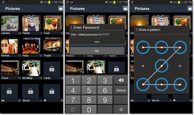 Cara Mengunci Foto dan Video Pribadi dengan Password