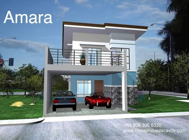 Amara at Riverlane Trail Single Detached - Pag-ibig Cheap Houses for sale in Cavite