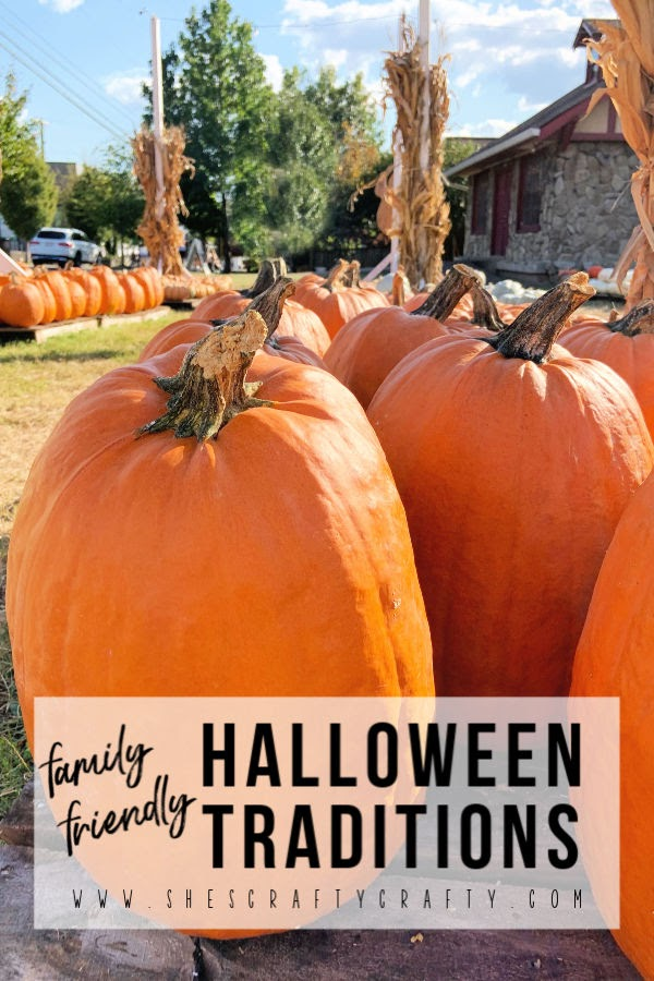 Family Friendly Halloween Traditions  -  fun ideas for family to do during the Halloween season