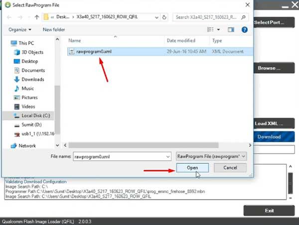 Cómo instalar firmware a un teléfono QualComm