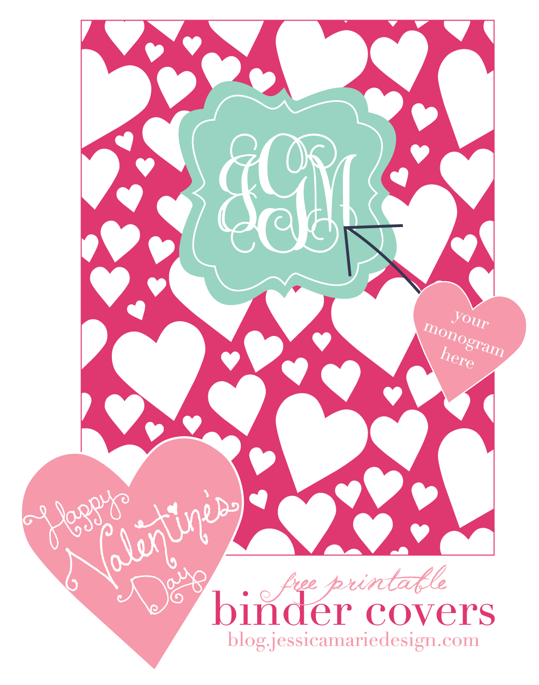 Jessica Marie Design Blog Free Printable Binder Covers