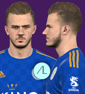 PES 2017 Faces James Maddison by Alief