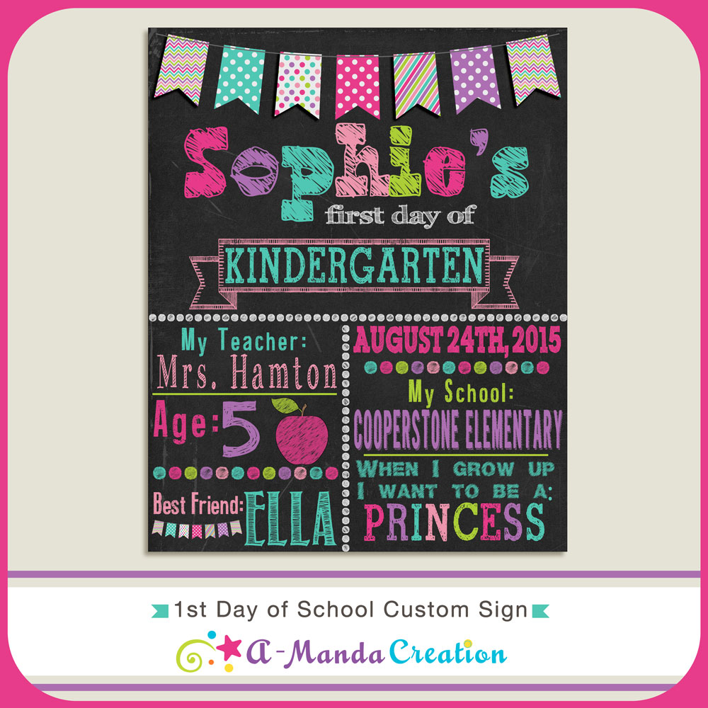 First Day Of School Photo Ideas And A Free 1st Day Of