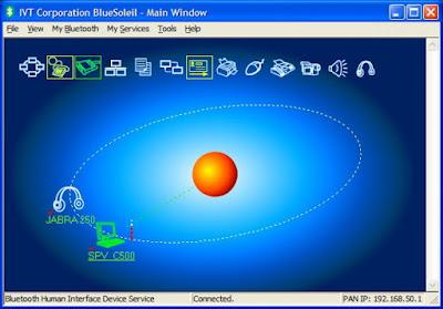 Mengkoneksikan Internet dari HP ke Komputer dengan Bluetooth