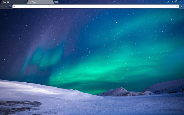 Aurora Google Chrome Theme