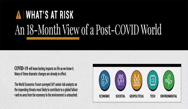 What's At Risk: An 18-Month View of a Post-COVID World