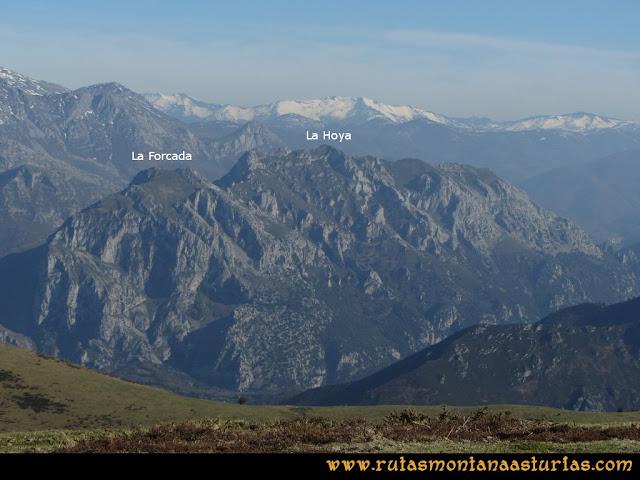 Ruta Linares, La Loral, Buey Muerto, Cuevallagar: Desde la Loral, La Hoya y la Forcada
