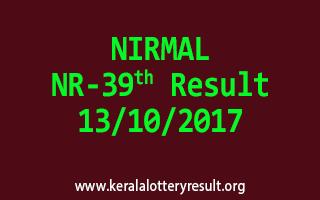 NIRMAL Lottery NR 39 Results 13-10-2017