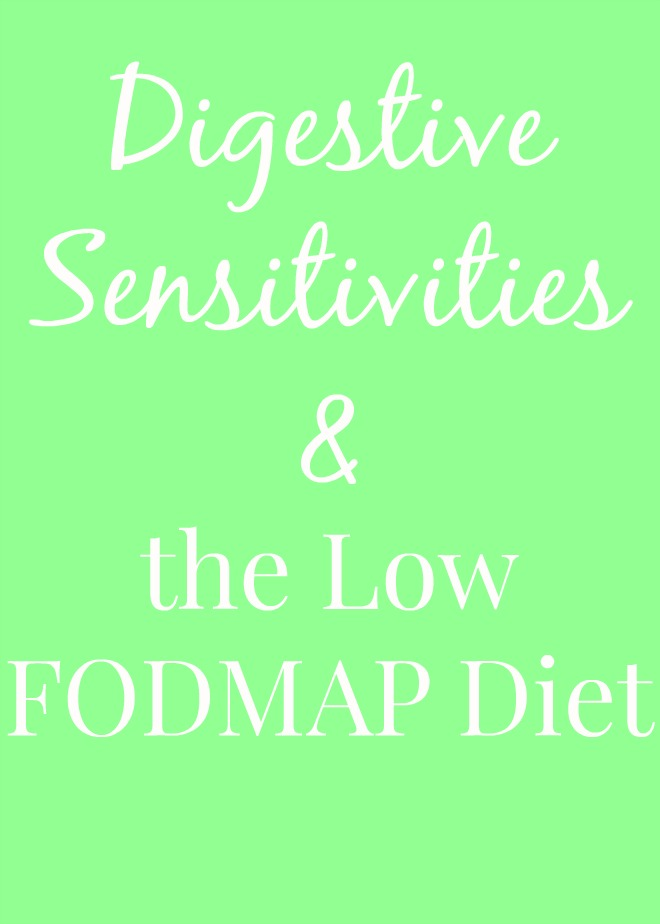 Digestive Sensitivities and the Low FODMAP Diet & review of a beverage safe for the low FODMAP diet.