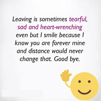Saying Goodbye Forever Quotes