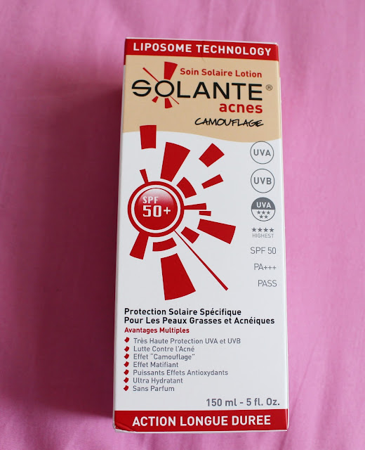 Solante Acnes Tinted Spf 50