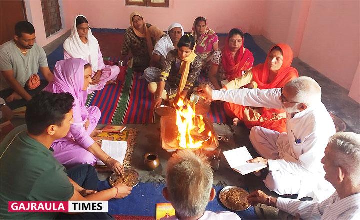 भारत स्वाभिमान ट्रस्ट की ओर से गुरु पूर्णिमा पर देवयज्ञ का आयोजन