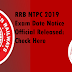 RRB NTPC 2019 Exam Date Notice Official Released: Check Here