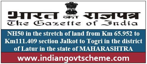 Jalkot to Togri in the district of Latur