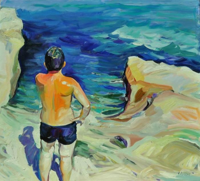 Люди в воде. Claudio Malacarne