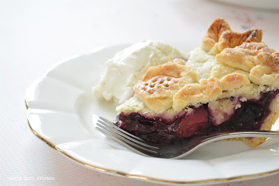 Strawberry Blueberry Pie, Pie, Four Seasons Pie, Holiday Baking