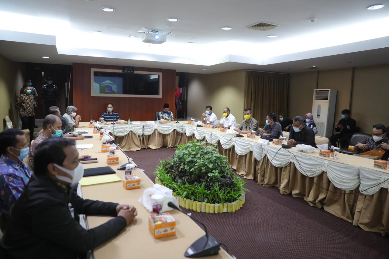 Bapemperda DPRD Kota Batam Koordinasi Ranperda RTRW ke BP Batam