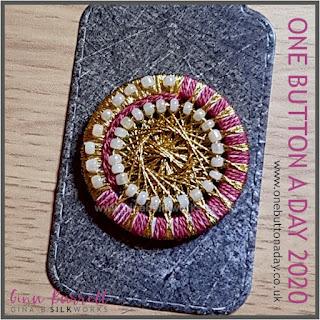 Day 362 : Byzantine - One Button a Day 2020 by Gina Barrett