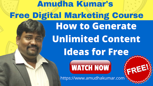 How to Create Unlimited Content Ideas that is 100% Free for Your Business Website?
