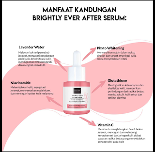 Manfaat Kandungan Brightly Serum Scarlett Whitening