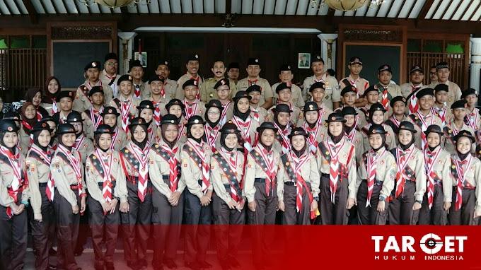 Bupati Haryanto Berangkatkan Kontingen Pergamanas ke Cibubur Dalam Rangka Jambore Nasional