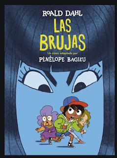Penelope Bagieu portada las brujas Roald Dahl