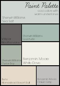 Home Paint Palette