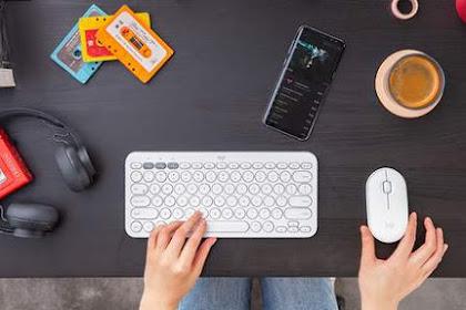 Review Logitech K380 Bluetooth Wireless Keyboard: Pasangan Wajib untuk Smartphone & Tablet