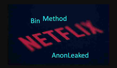 Netflix Bin Method Payment Update July 2019