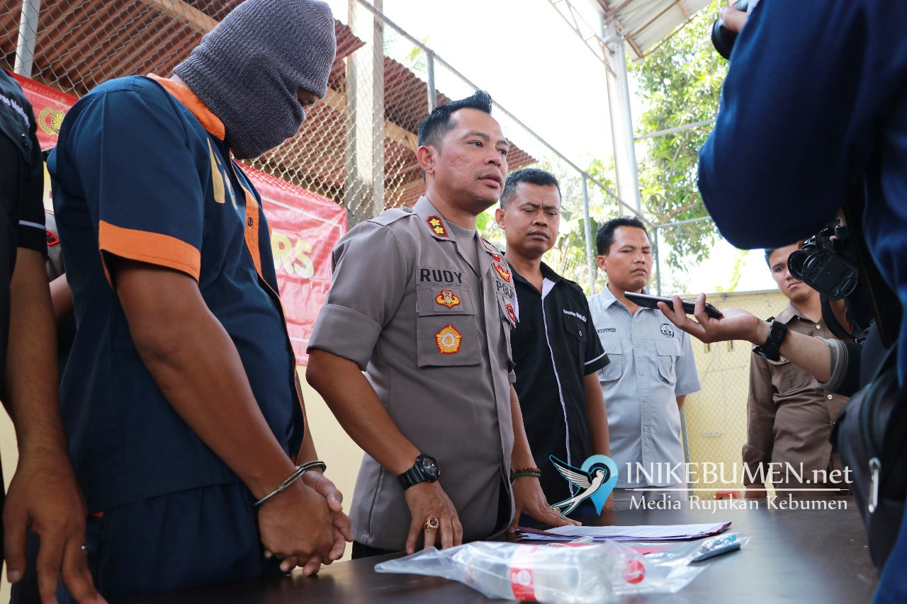 Pesta Narkoba di Kebumen, Pengguna Narkoba Asal Sumatera Terancam Penjara Minimal 4 Tahun