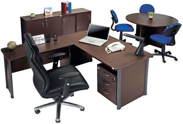 model meja kerja kantor terbaru