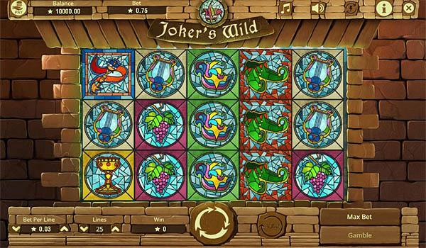 Main Gratis Slot Indonesia - Joker's Wild Booming Games