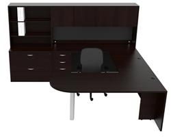 Cherryman Amber U Desk