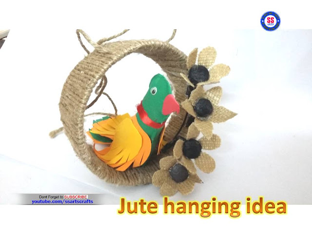 Here is jute crafts,jute wall decor pics,jute room decor ideas,jute wall art,jute flowers for home decoration ideas,jute flower vase,jute pen stand,jute bags,jute and wool flower vase,jute crafts for kids,jute fruit bowl,jute hanging ideas,how to make jute parrot room decor ideas ssartscrafts videos youtube channel