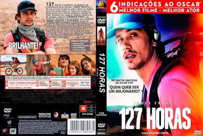 Filme 127 Horas (127 Hours) DVD Capa