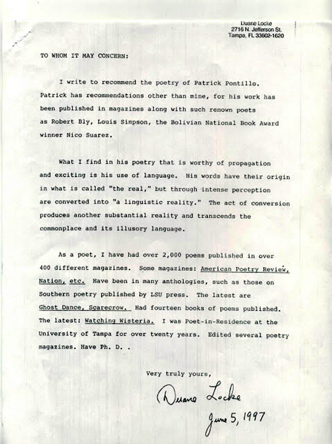 letter of recommendation jobs
