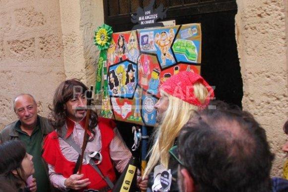 Romanceros del Carnaval de Cádiz actúan este lunes por una buena causa