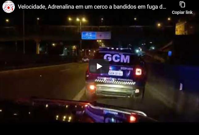 Velocidade, Adrenalina em um cerco a bandidos em fuga de carro em Cotia...