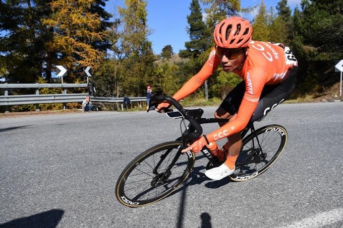 Az egy óriási löket volt, amikor a kétszeres Giro-győztes is leszakadt