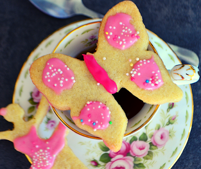 Biscuits avec glaçage