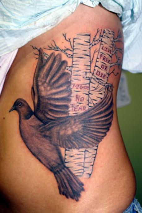 whatevercathieb: dove tattoos ideas on ribs