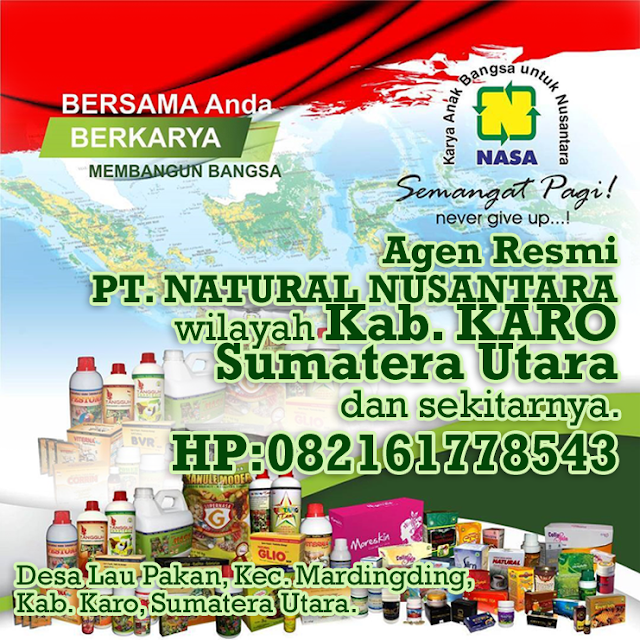 Agen Resmi Nasa Wilayah Kabupaten Karo Sumatera Utara dan Sekitarnya