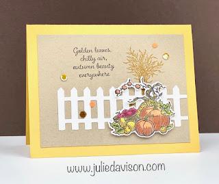 Stampin' Up! Autumn Goodness Card ~ Aug-Dec 2020 Mini Catalog ~ www.juliedavison.com
