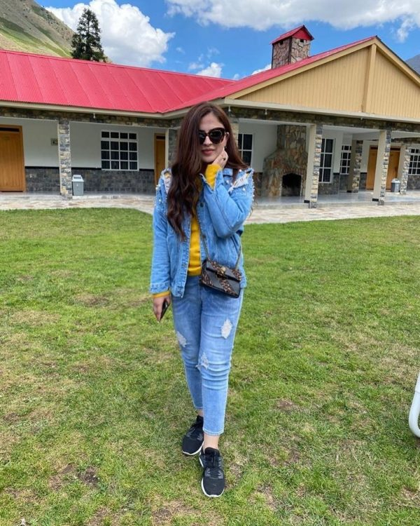 Designer Faiza Saqlain having Awesome Family Time in Hunza Valley